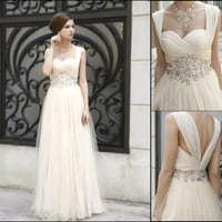 Romantic Waist Beaded Pa...