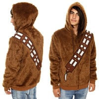 Furry Chewbacca Zipper Hoodie | Geek Is Awesome
