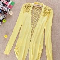 Lightweight Lace Cardigan (multiple colors)