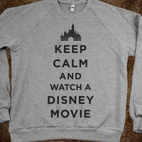 Keep Calm and Watch A Disney Movie (Sweater)