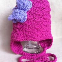 Sweetpea  Pink and Purple sweetpea by HookinItbyBellaBeanz on Etsy