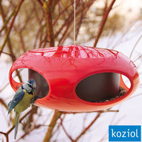 Koziol Pi:p Bird Feeder ? modern garden bird feeder ? buy online