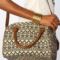 *Accessories Boutique The Tribal Duffle Bag in Taupe : Karmaloop.com - Global Concrete Culture