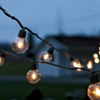 Global Party String Lights  - Outdoor Lighting &amp; Candlelight - Home &amp; Garden - NapaStyle
