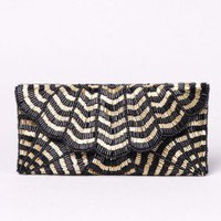 Gable Hand Beaded Clutch by AKIRA | Beaded Handbag | shopAKIRA.com