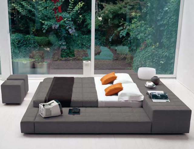Platform Bed - Minneapolis Modern - &amp;#36;2,195.00 : Modern Furniture, modern Bedroom set, Living room sofas, Dining sets, NY, NJ