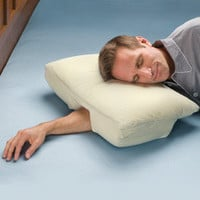 The Arm Sleeper&#x27;s Pillow - Hammacher Schlemmer