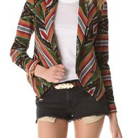 Twelfth St. by Cynthia Vincent Ikat Blazer | SHOPBOP