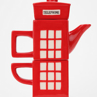 London Calling Tea-for-One Set- Red One