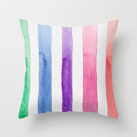 Spectrum 2013 Throw Pillow by Catherine Holcombe | Society6