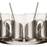 One Kings Lane - Sagaform - Irish Coffee Set, Set of 4