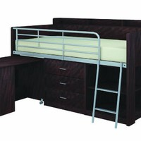 Rack Furniture Clairmont Loft Bed,Espresso