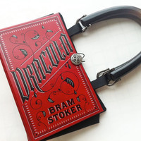 Dracula Book Purse by NovelCreations on Etsy
