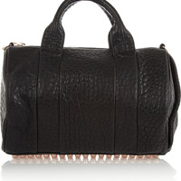 Alexander Wang | The Rocco textured-leather bag | NET-A-PORTER.COM