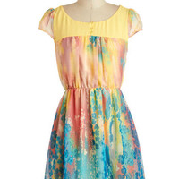 Printmaking an Impression Dress | Mod Retro Vintage Dresses | ModCloth.com