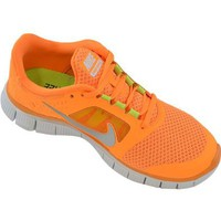 Amazon.com: Nike Free Run+ 3 Mens Running Shoes 510642-800 Total Orange 9.5 M US: Sports & Outdoors