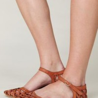 Jeffrey Campbell Lattice Mary Jane Sandal at Free People Clothing Boutique