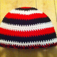 Go Sens Go  Ottawa Senators beanie done in by HookinItbyBellaBeanz
