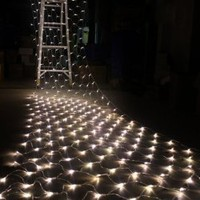 CVLIFE 300 LED Warm White Net Mesh Fairy String Light Christmas Lights Lighting Party Wedding Xmas Tree-wrap