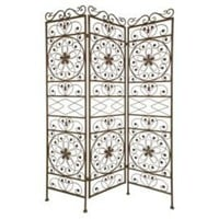 One Kings Lane - Accents We Love - Antiqued Metal Room Divider