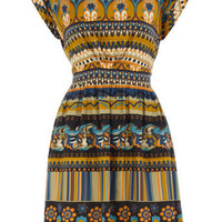 Multi vintage print dress - View All Sale - Sale &amp; Offers - Dorothy Perkins