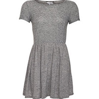 Grey Skater T-Shirt Dress
