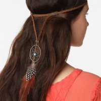 UrbanOutfitters.com &gt; Dreamcatcher Suede Headwrap