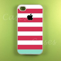 Iphone 4 Case - Pink Blue Strip Iph.. on Luulla