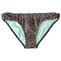 Target : Xhilaration® Junior's Leopard Hipster Swim Bottom -Black/Brown : Image Zoom