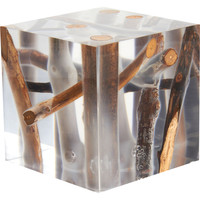 Bleu Nature Kisimi Frosted Driftwood Cube | Barneys New York