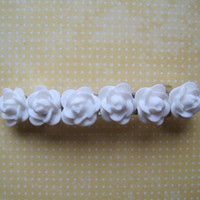 Sale All in White Hair Barrette