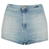 MOTO Bleach 50s Hotpant - Shorts - Clothing - Topshop