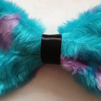 Monsters Inc Sully Hair Bow by Bellabix on Etsy