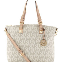 MICHAEL Michael Kors  Jet Set Logo Multifunction Tote - Michael Kors