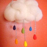 Gay Pride Rainbow Rain Cloud
