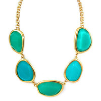 Pree Brulee - Turquoise Swan Necklace