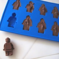 Amazon.com: Minifigure Ice Cube Tray or Candy Mold ----for Lego Lovers!: Kitchen & Dining