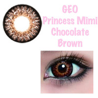 Geo Lens - Princess Mimi Chocolate Brown (Bambi Series)