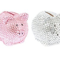 Present Time Silly Diamond Piggy Money Bank
