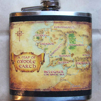 Middle Earth Flask, Funnel included