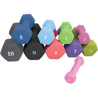 Walmart: CAP Barbell Neoprene Dumbbell (Available in 1lb - 10lbs)