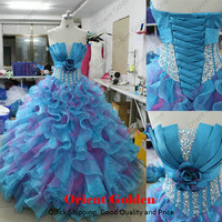 Sexy Prom Quinceanera Dress Wedding Dresses Party Evening Gowns Ball Gown A Line