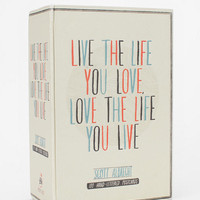 Live The Life You Love Postcard Set