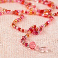 Bright Colorful Lively Sunrise Pink Colors in a Fun to Wear Lariat