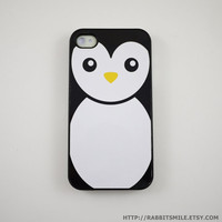 Penguin iPhone 4 Case, iPhone 4s Case, iPhone 4 Cover, Hard iPhone 4 Case