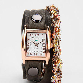 La Mer Crystal Wrap Watch
