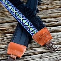 Purple Bohemian Camera Strap for DSLR / SLR Quick by iMoShop