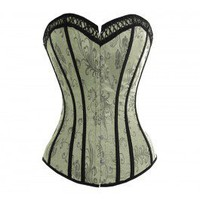 A3034 - Victorian Green Corset  SALE