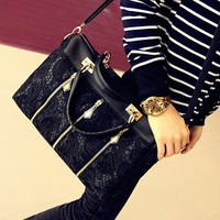 Fashion Lace Retro Handbag Shoulder.. on Luulla