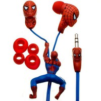 Spider-Man Sculpted Earbuds